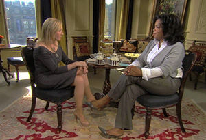 Oprah and J.K. Rowling