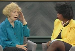 Truddi Chase and Oprah