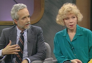 Truddi Chase and her therapist, Dr. Robert Phillips