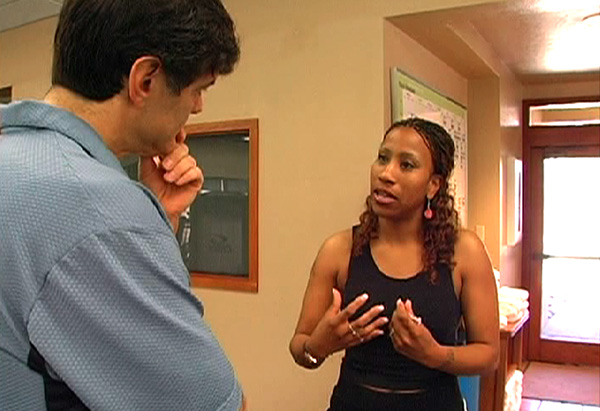 Dr. Oz is worried about Shonna's health.
