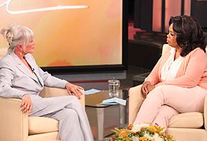 Linda Evans and Oprah