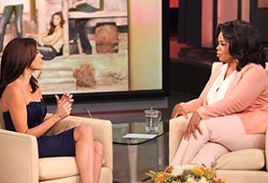 Teri Hatcher and Oprah