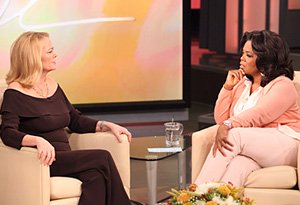 Cybill Shepherd and Oprah