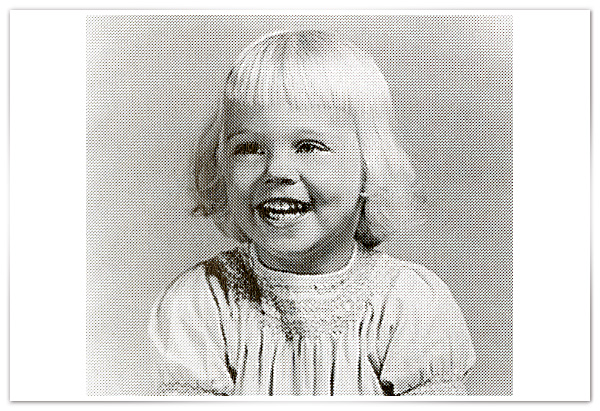 Cybill Shepherd as a baby