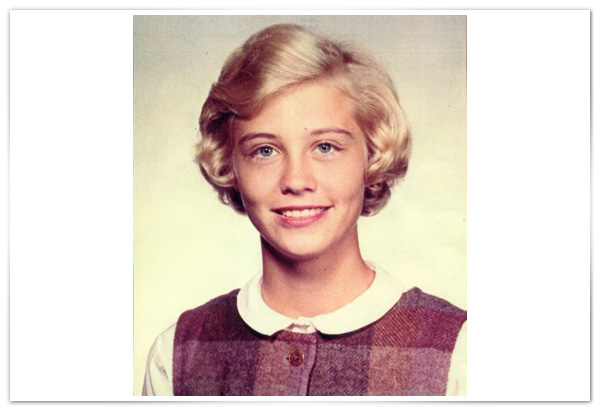 Cybill Shepherd as a child