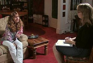 Oprah Show producer Kirsten Williams interviews Kim Noble.