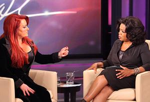 Wynonna Judd and Oprah