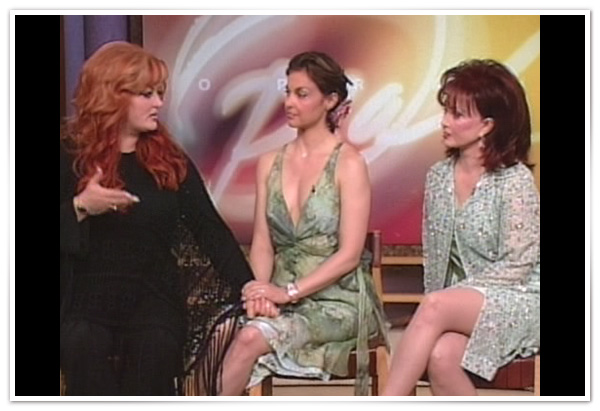 Wynonna, Ashley and Naomi Judd