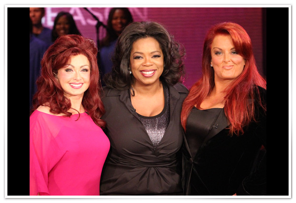 Wynonna Judd, Naomi Judd and Oprah