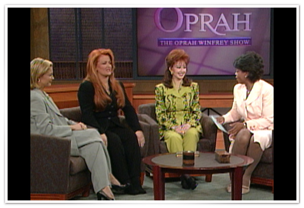 Ashley, Wynonna and Naomi Judd's first television interview together
