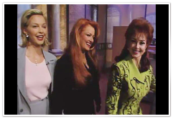 Ashley, Wynonna and Naomi Judd's revealing after the show conversation