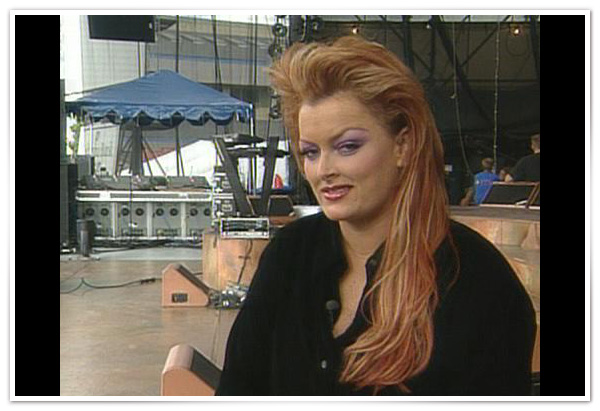 Wynonna Judd on location