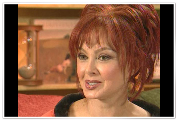 Naomi Judd on aging gracefully