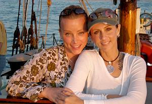 Christine and Lisa