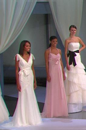 Sleeveless net gown