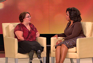 Oprah and Monica Jorge