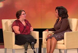 Oprah and Monica Jorge