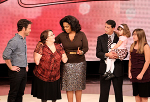 Oprah, Nate Berkus and Monica Jorge's family