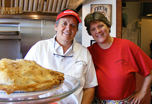Laurie and Kristin at Centerville Pie Company