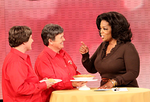 Oprah with Kristin and Laurie