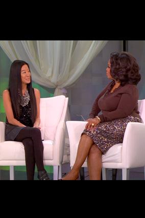Oprah and Vera Wang