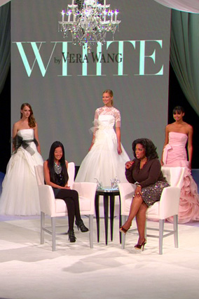 Vera Wang with models