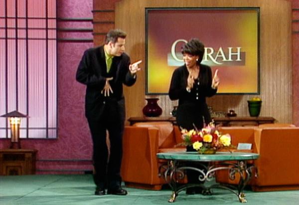 John Travolta dancing