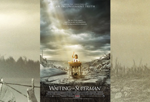 "Waiting For ""Superman"" movie poster"