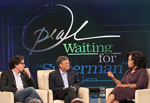 Davis Guggenheim and Bill Gates