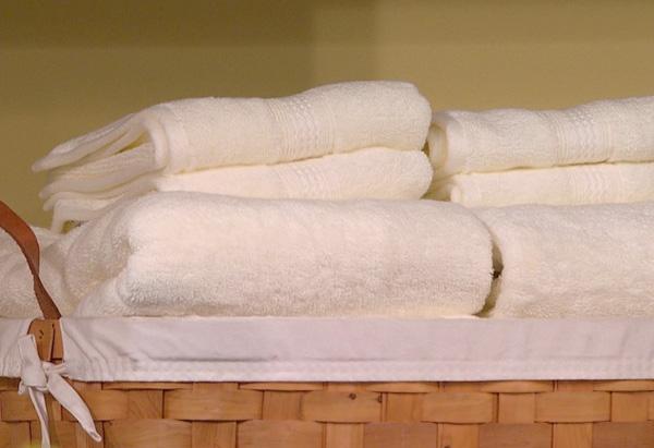 Martha Stewart on how to fold a towel