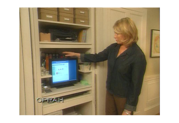 Turn Your Closet into a Home Office - Oprah.