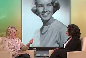 Martha Stewart and Oprah