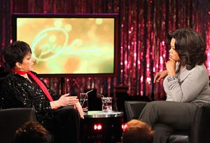 Liza Minnelli and Oprah