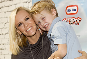 Jenny McCarthy and Evan