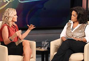 Jenny McCarthy and Oprah
