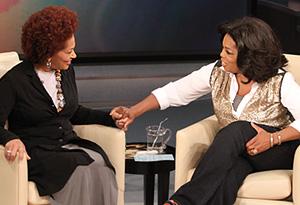 Terry McMillan and Oprah