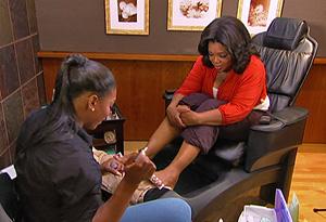 Oprah and Serena Williams