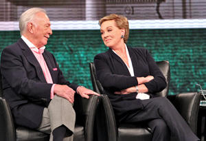 Christopher Plummer and Julie Andrews