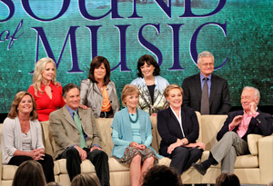 The cast of The Sound of Music with Oprah