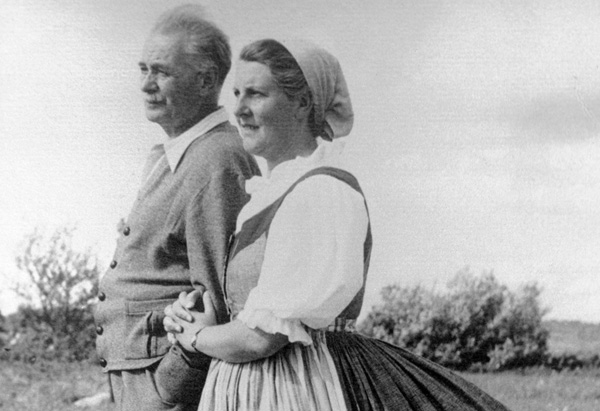 Maria and Baron Georg von Trapp
