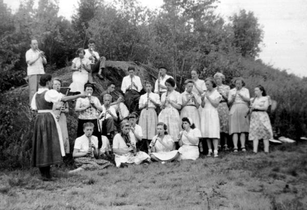 The Von Trapp singers