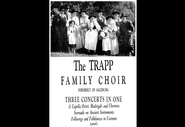 The Von Trapp family choir