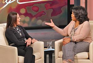 Ali MacGraw and Oprah
