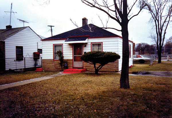 Jackson family's former home