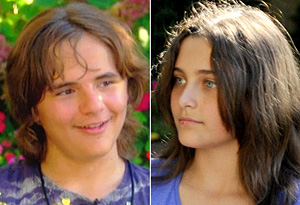 Prince Michael Jackson and Paris Jackson
