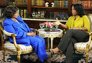 Katherine Jackson and Oprah