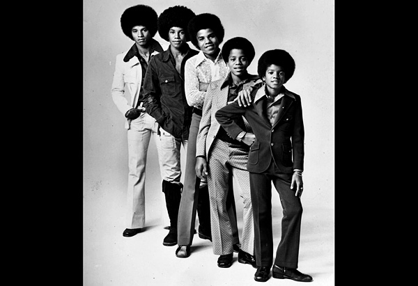 Jackson 5: Jackie, Tito, Jermaine, Marlon and Michael Jackson