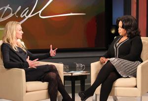 Portia de Rossi and Oprah