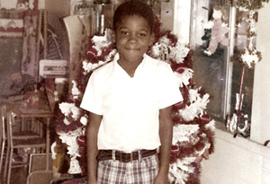 Tyler Perry at age 6