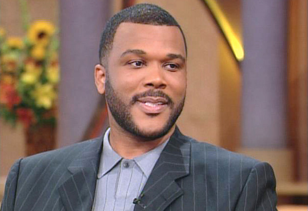 Tyler Perry on The Oprah Show on April 23, 2001